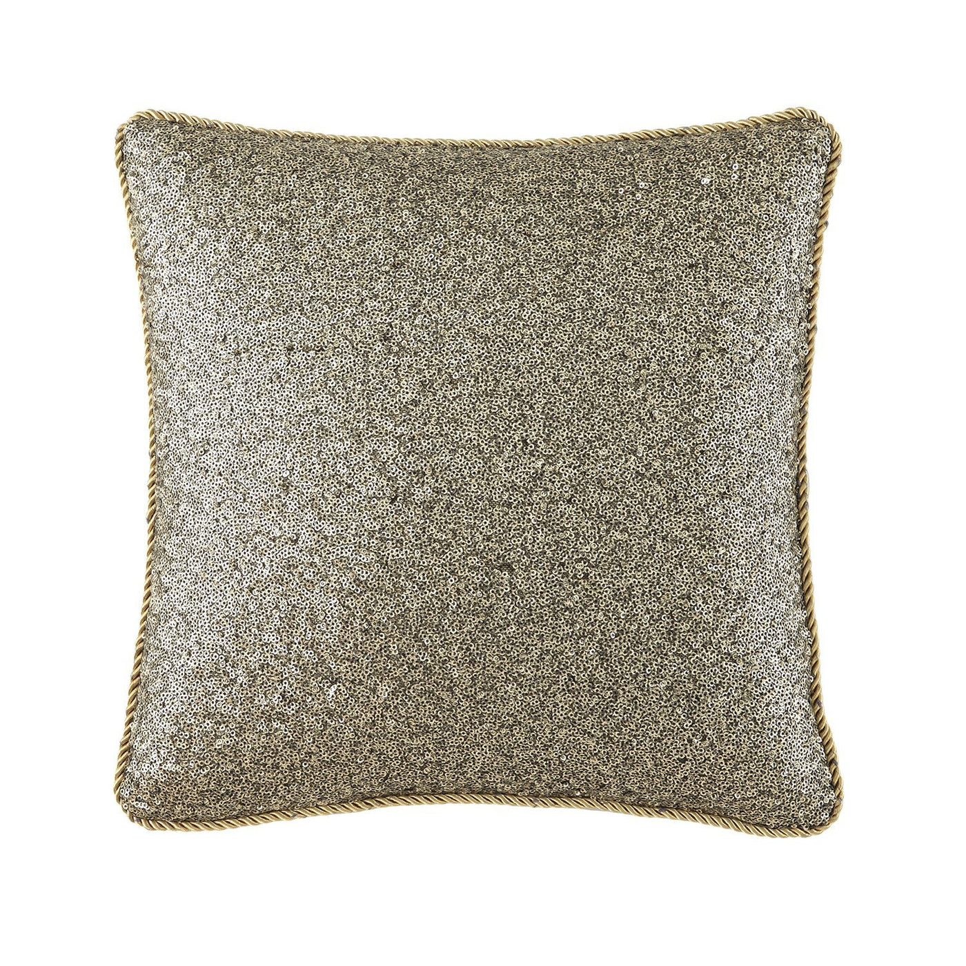 Vaughn Navygold Decorative Pillow 14 X 14 By Waterford