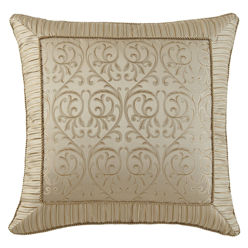 Sham Anya Pale Gold Euro Sham Latest Bedding