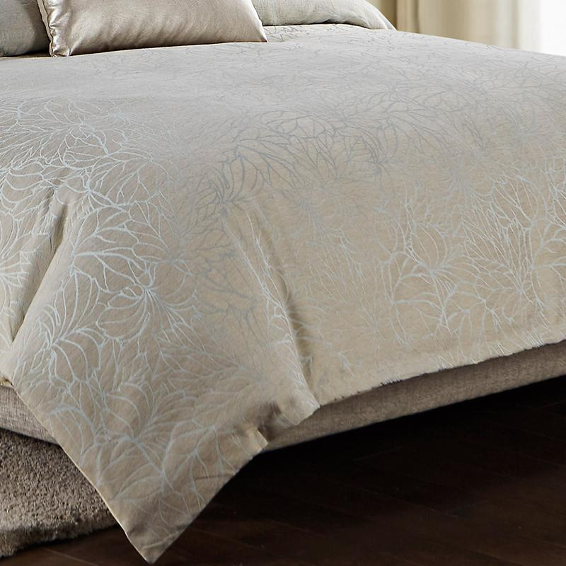 Abstract Floral Sea Mist 3-Piece Comforter Set [Luxury comforter Sets] [by Latest Bedding]