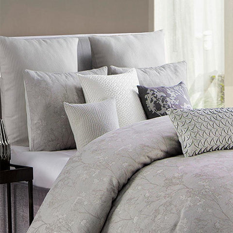 Comforter Sets Adelais Grey 3-Piece Comforter Set [Luxury comforter Sets) ( by Latest Bedding)]