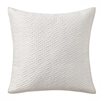 "Adelais Grey Decorative Pillow 18"" x 18"" Throw Pillows By Waterford"