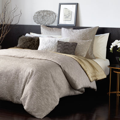 Alloy Taupe Duvet Cover - DKNY Home Duvet By CHF Industries, Inc.