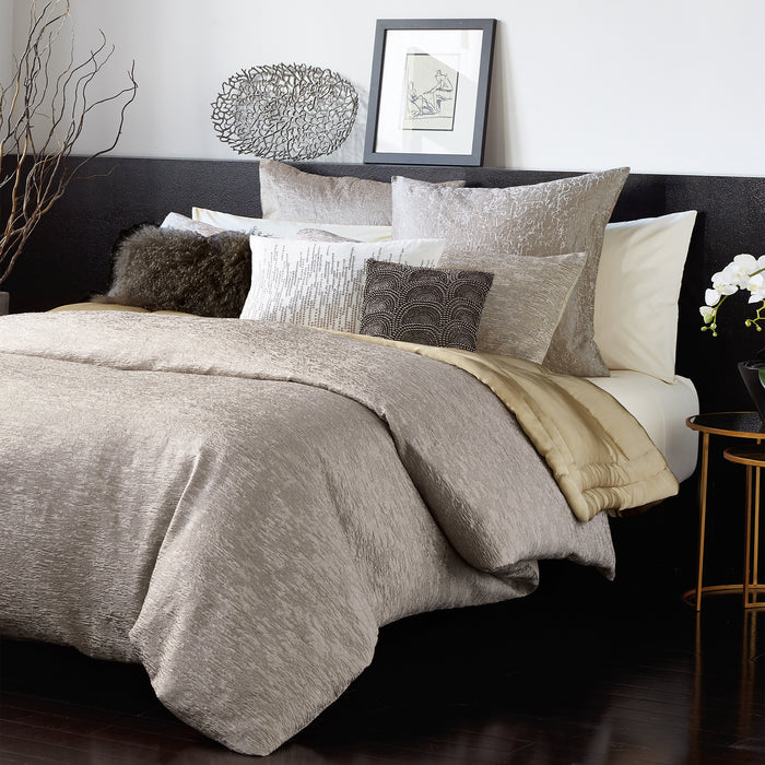 Alloy Taupe Duvet Cover - DKNY Home