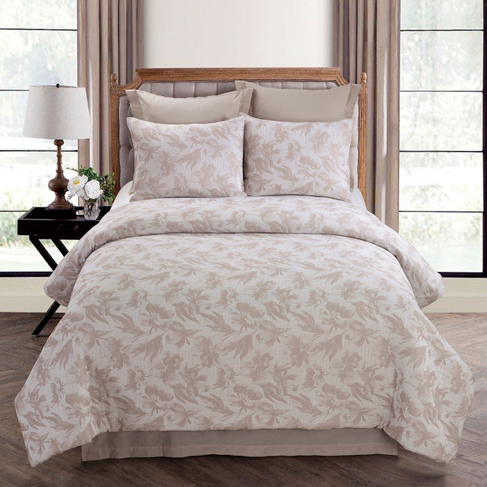 Almaria Blush 3-Piece Comforter Set