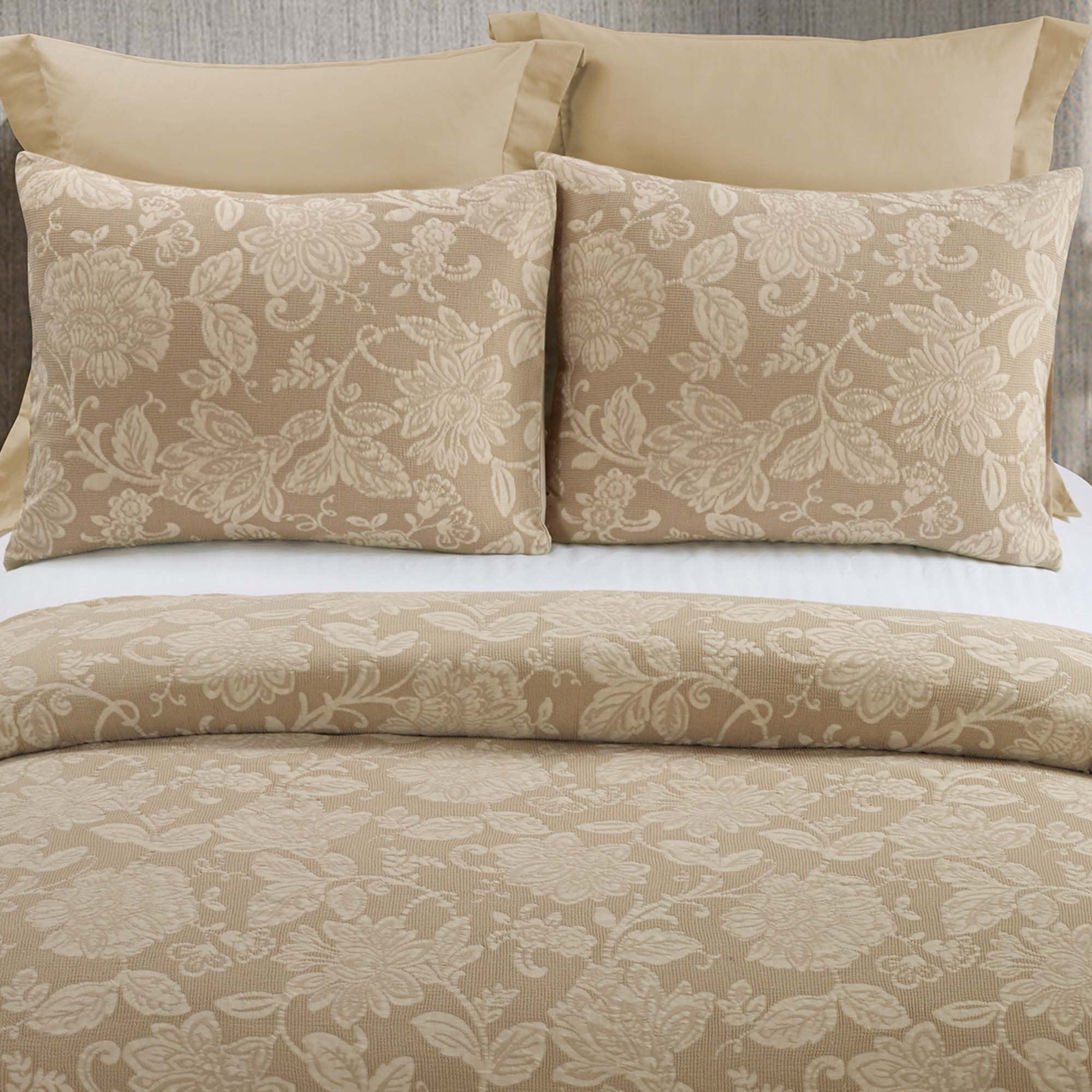 Amadora Cappuccino 3-Piece Comforter Set [Luxury comforter Sets] [by Latest Bedding]