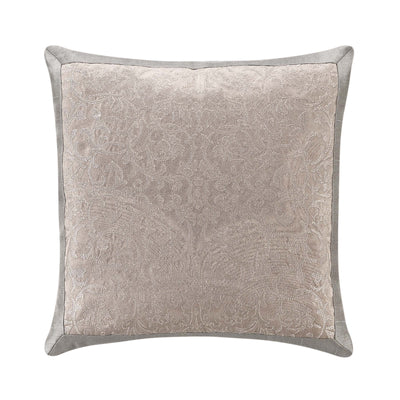 "Andria Taupe Decorative Throw Pillow 16""W x 16""L [Luxury comforter Sets] [by Latest Bedding]"