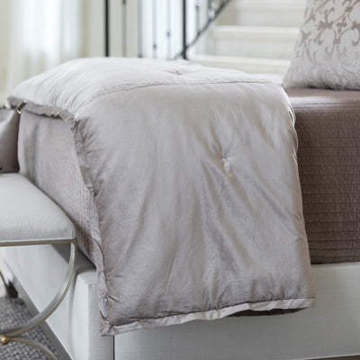 Aria Raffia Matte Velvet Personal Throw Throws By Lili Alessandra