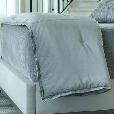 Aria Sky Personal Throw - Lili Alessandra [Luxury comforter Sets] [by Latest Bedding]