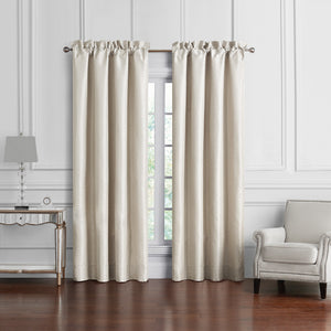 Arianna Champagne Window Panel Pair [Luxury comforter Sets] [by Latest Bedding]