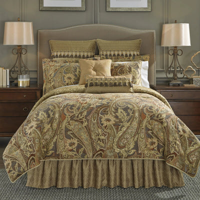 Ashton Multi 4-Piece Comforter Set By Croscill Comforter Sets By Croscill Home LLC