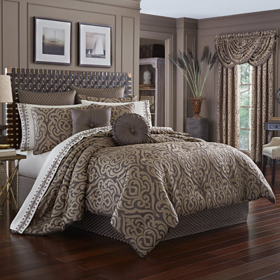 Astoria MINK 4-Piece Comforter Set [Luxury comforter Sets] [by Latest Bedding]