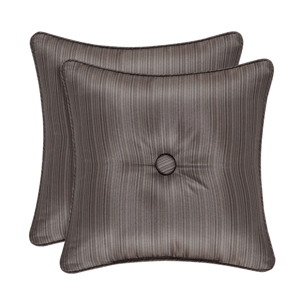 "Astoria MINK Square Decorative Throw Pillow 16"" x 16"" [Luxury comforter Sets] [by Latest Bedding]"