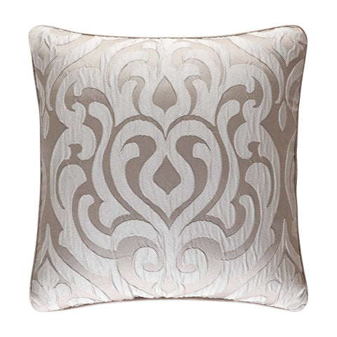 "Astoria Sand Square Decorative Throw Pillow 18"" x 18"" [Luxury comforter Sets] [by Latest Bedding]"