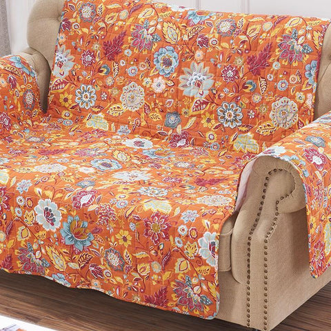 Slipcovers Astoria Spice Furniture Protector Loveseat Latest Bedding