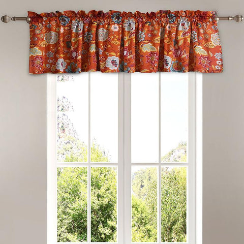 Astoria Spice Window Valance [Luxury comforter Sets] [by Latest Bedding]