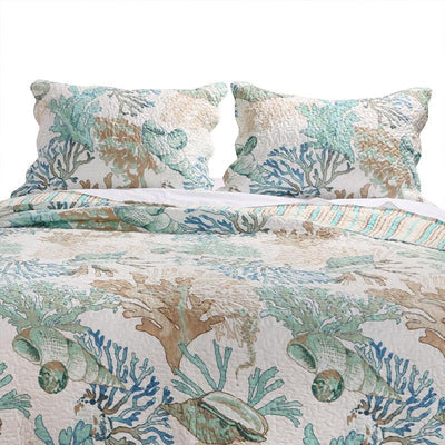 Atlantis Jade Sham [Luxury comforter Sets] [by Latest Bedding]