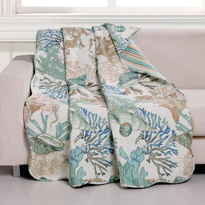 Throws Atlantis Jade Throw Latest Bedding
