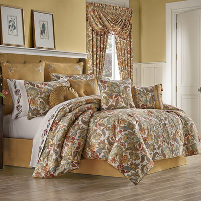 August Multi 4-Piece Comforter Set [Luxury comforter Sets] [by Latest Bedding]