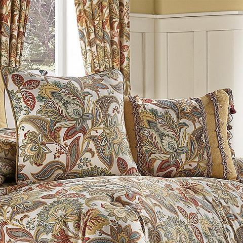 August Multi Boudoir Decorative Throw Pillow [Luxury comforter Sets] [by Latest Bedding]