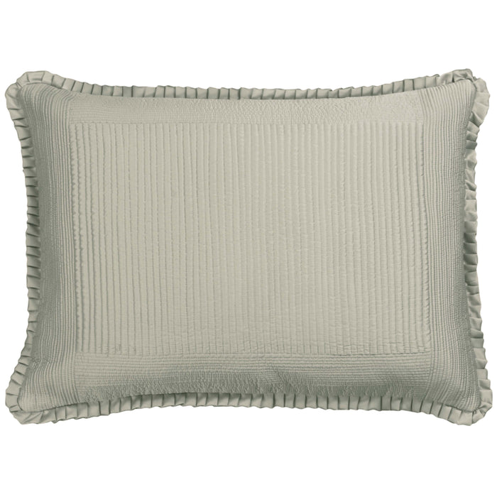 Battersea Taupe S&S Quilted Pillow