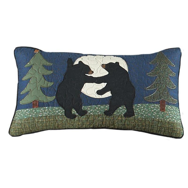Bear Dance Rectangle Decorative Pillow [Luxury comforter Sets] [by Latest Bedding]