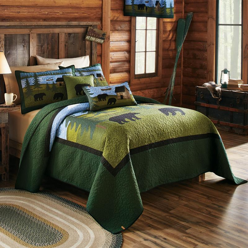 Bear River 3-Piece Cotton Quilt Set [Luxury comforter Sets] [by Latest Bedding]
