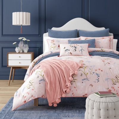 Beatrice Rose 3-Piece Comforter Set Comforter Sets By J. Queen New York
