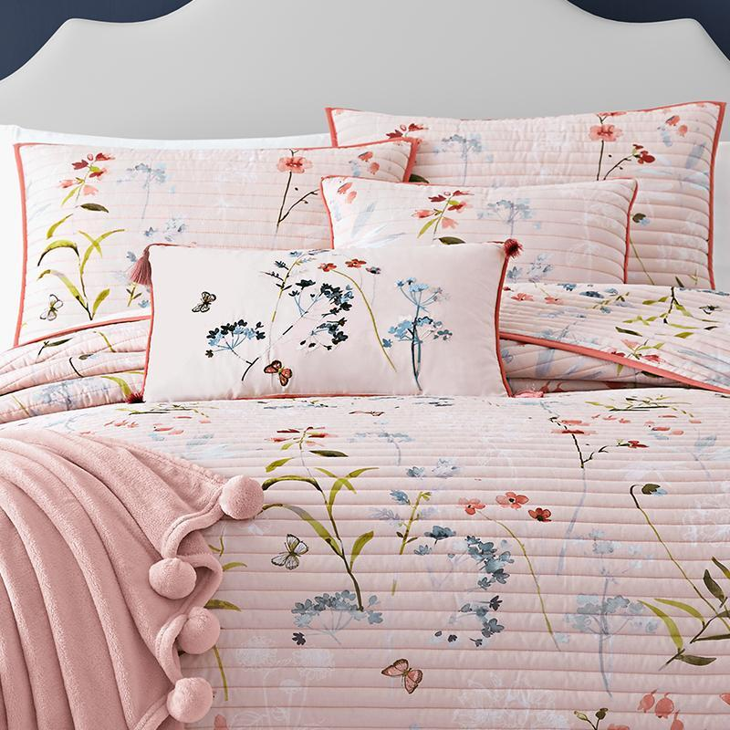 Beatrice Rose Coverlet [Luxury comforter Sets] [by Latest Bedding]
