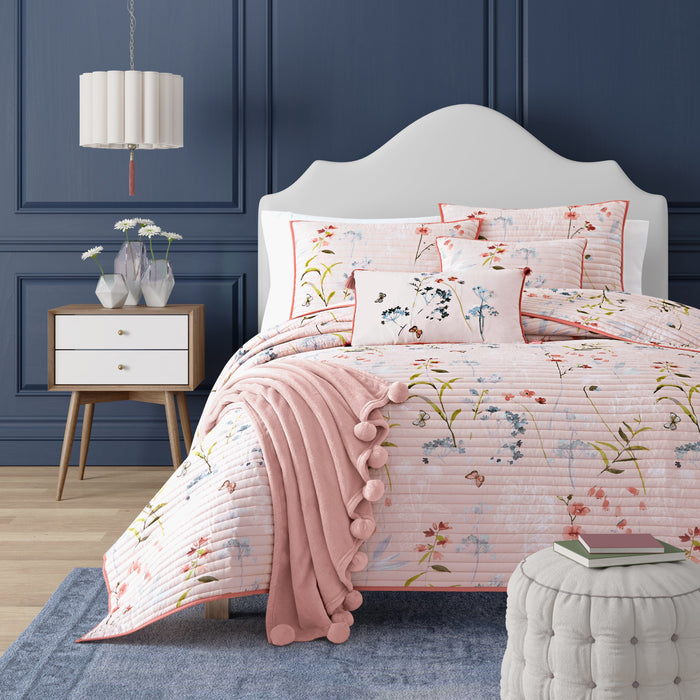 Beatrice Rose Coverlet