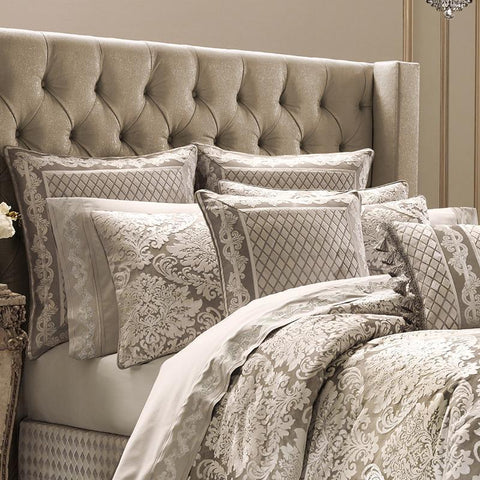 Bel Air Sand 4-Piece Comforter Set [Luxury comforter Sets] [by Latest Bedding]