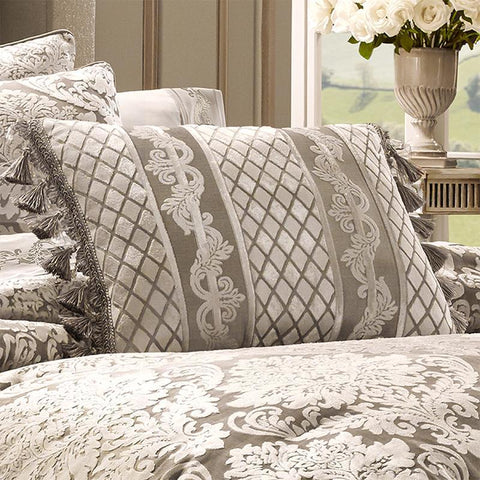 Bel Air Sand Boudoir Decorative Throw Pillow [Luxury comforter Sets] [by Latest Bedding]