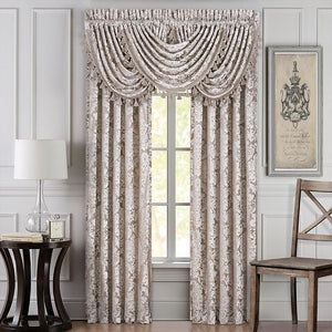 BelAir Sand Window Panel Pair [Luxury comforter Sets] [by Latest Bedding]