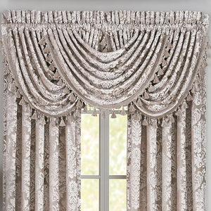 BelAir Sand Waterfall Window Valance [Luxury comforter Sets] [by Latest Bedding]