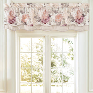 Bela Multi Scalloped Double Layer Window Valance By Croscill [Luxury comforter Sets] [by Latest Bedding]