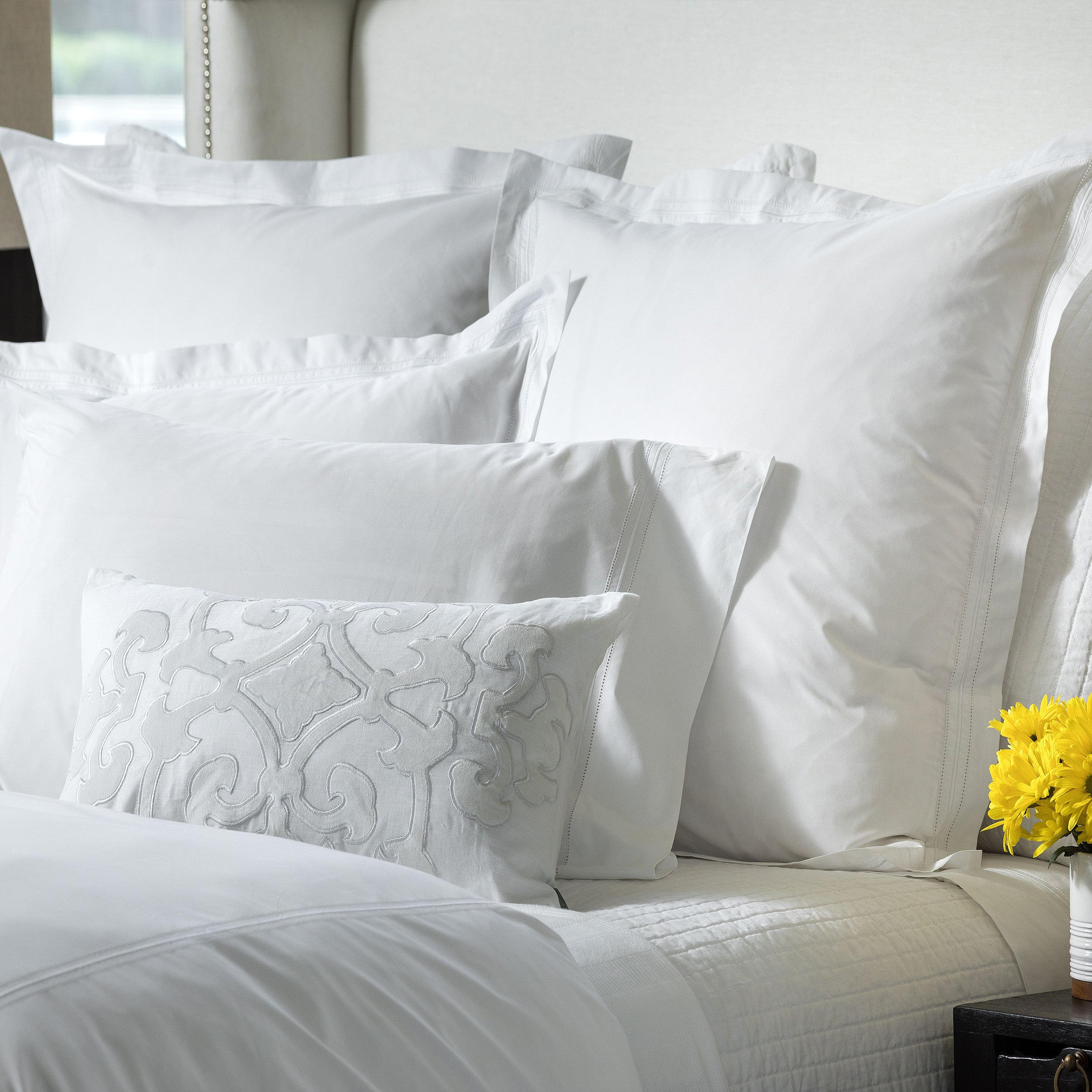 Bella White Duvet Cover - Lili Alessandra [Luxury comforter Sets] [by Latest Bedding]