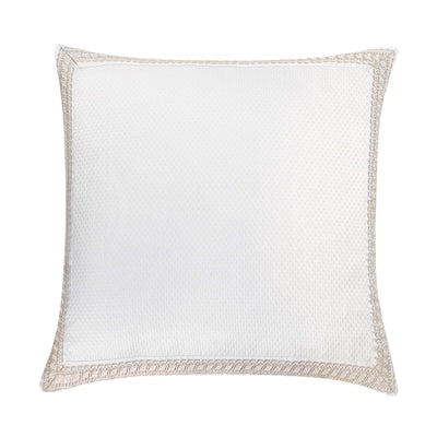 Belline Silver Euro Sham [Luxury comforter Sets] [by Latest Bedding]