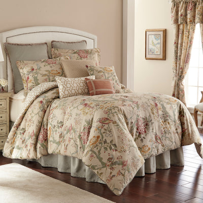Biccari Multi Floral 4-Piece Comforter Set [Luxury comforter Sets] [by Latest Bedding]