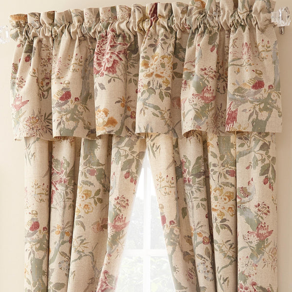 Rosetree Window Panels and Valances