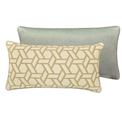 "Biccari Multi Throw Pillow 22"" x 11"" [Luxury comforter Sets] [by Latest Bedding]"