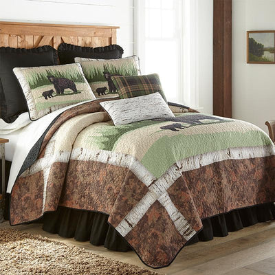 Birch Bear 3-Piece Quilt Set Quilt Sets By Donna Sharp