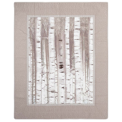 Birch Forest Throw [Luxury comforter Sets] [by Latest Bedding]