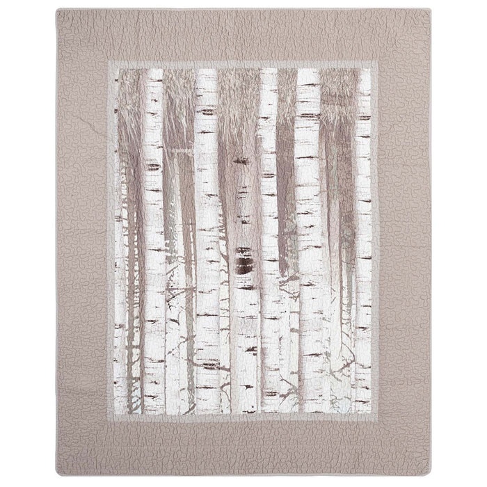 Birch Forest Throw