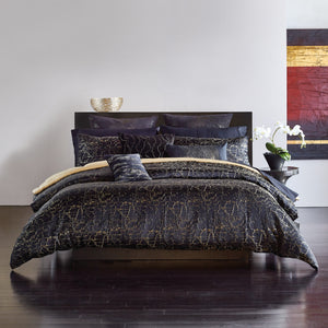 Black Onyx Duvet Cover - DKNY Home [Luxury comforter Sets] [by Latest Bedding]