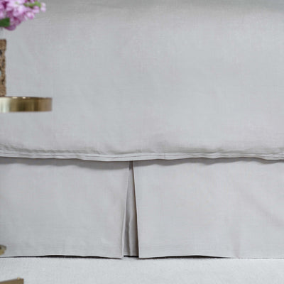 Bloom Raffia Linen Bedskirt [Luxury comforter Sets] [by Latest Bedding]
