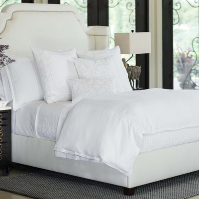 Bloom White Linen Duvet Cover Duvet By Lili Alessandra