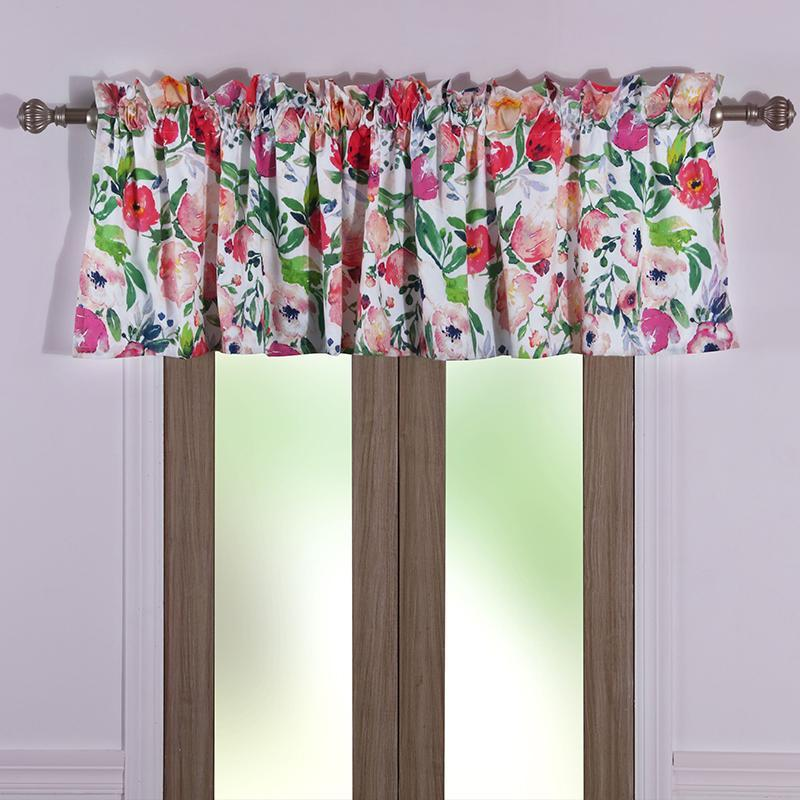 Blossom Multi Window Valance [Luxury comforter Sets] [by Latest Bedding]