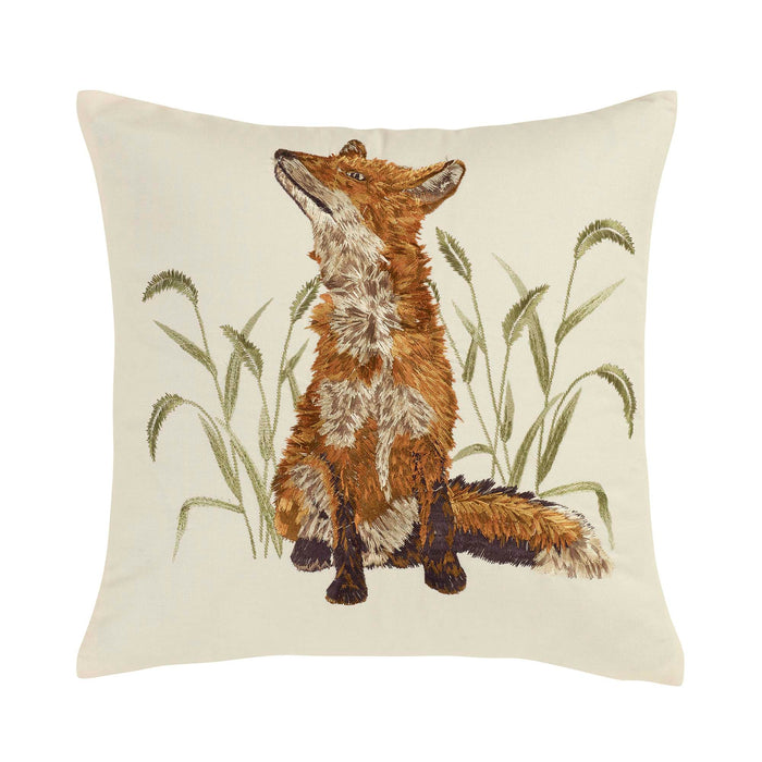 Blue Ridhe Fox Decorative Pillow