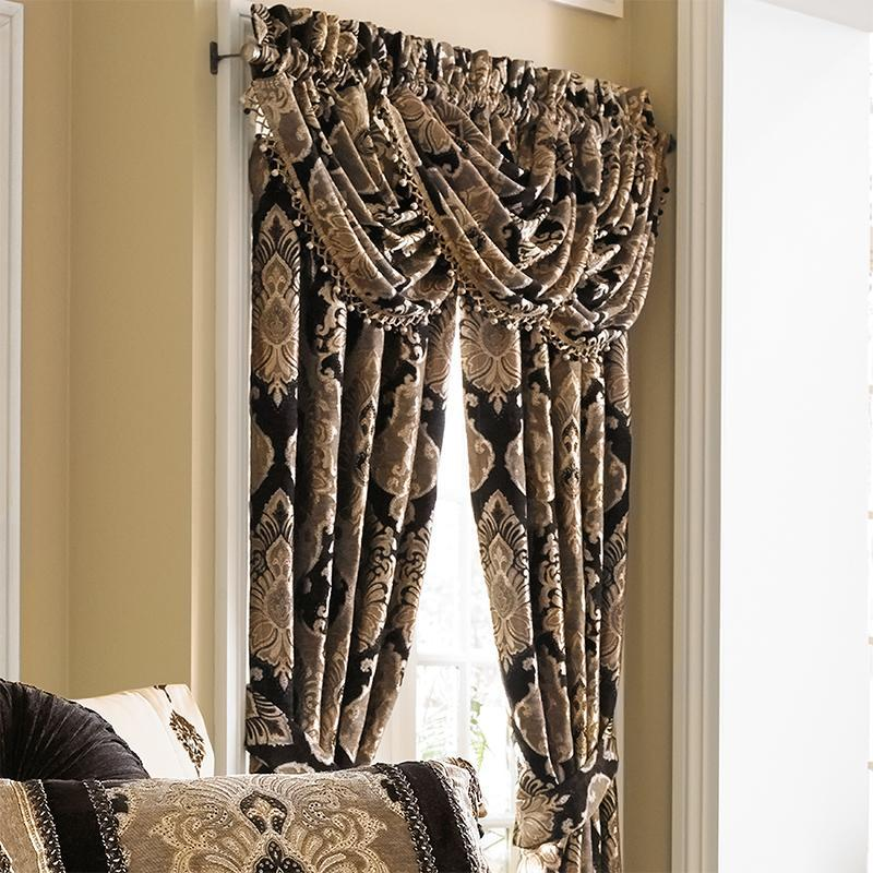 J. Queen Window Panels & Valances