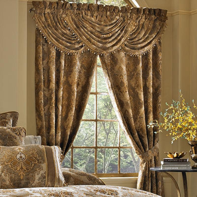 Bradshaw Natural Waterfall Window Valance Window Valance By J. Queen New York