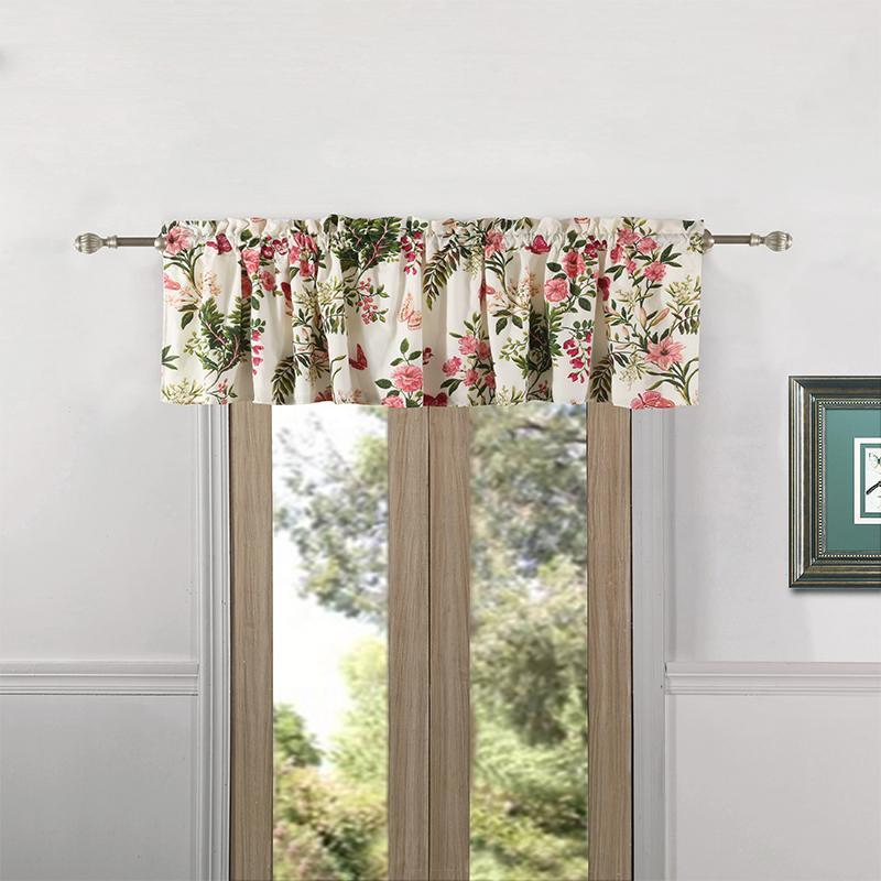 Butterflies Multi Window Valance [Luxury comforter Sets] [by Latest Bedding]